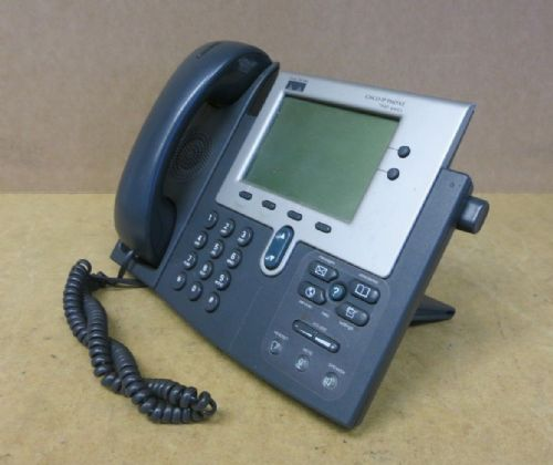 Cisco 7940G CP-7940G VoIP IP Display Telephone Phone Business Desktop & Stand